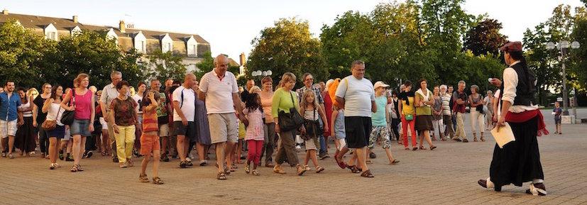 Boulevard du Crime... et ses nombreux et joyeux spectateurs ! - 2013
